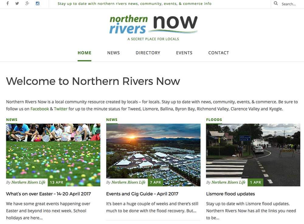 Mid North Coast Now Portfolio Item