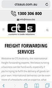Customs and Trade Solutions iPhone